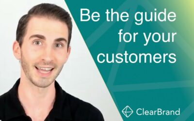 StoryBrand Website: How to be a Guide for your Customers