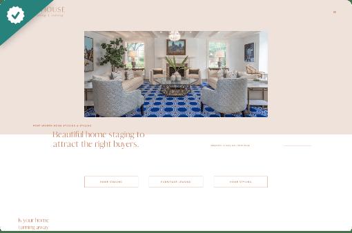 Sharp House - StoryBrand website example