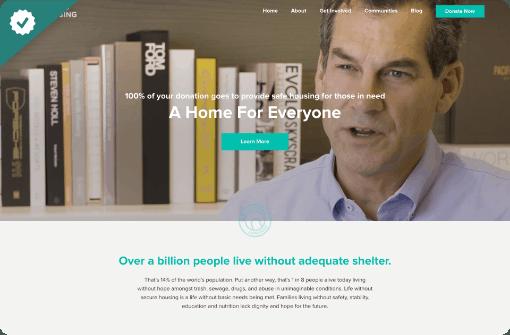 World Housing - StoryBrand website example